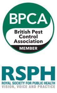 British Pest Control Association & Royal Society for Public Health Logos